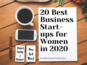 Best Business Start-ups for women