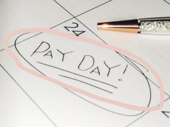 How to save money on pay day