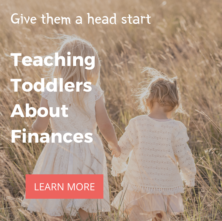 teaching toddlers about finances